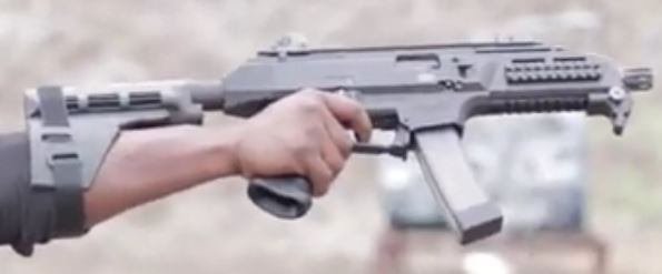 CZ Scorpion w/ Sig SB-15 Arm Brace - Image courtesy of Colion Noir