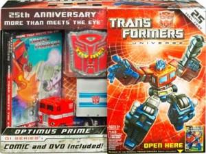 25th Anniversary Optimus Prime