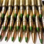 M855 5.56x45mm NATO 62-grain ammunition